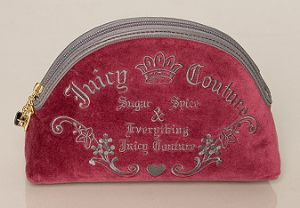 Juicy Couture Cosmetics Bag