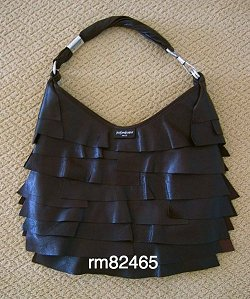 YSL Ruffled Purse