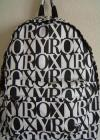 Roxy Backpack Book Bag | Black and White Sugar Baby School Bag