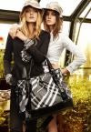 Lily Donaldson Carries Burberry Gardener Tote Bag in Spring 2009 Advertising Campaign