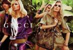 International Models Star in Gucci's Tropical Spring/Summer 09 Advertisement