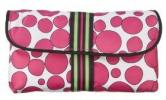 Sonia Kashuk for Target Cosmetics Bag | Affordable Adorable Dot Print Double-Zip Foldover Makeup Purse