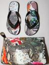 Jimmy Choo Designs Graphic Clutch for Sir Elton John AIDS Foundation