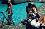 Gucci Goes Poolside for Sexy Cruise 2010 Handbag Advertisements