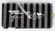 Alexander McQueen Whatever It Takes Wallet | Long Striped Charity Purse