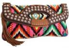 Cynthia Vincent Outlaw Clutch | Colorful Convertible Foldover Purse