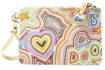 Dooney & Bourke Pop Novelty Wristlet   Colorful Printed Small Purse