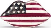 Lulu Guinness Launches American Website with Limited Edition Flag Lips Clutch