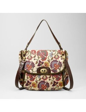 Fossil Heritage Fabric Convertible Flap