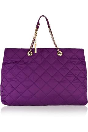 DKNY Eyelet Large Quilted Tote
