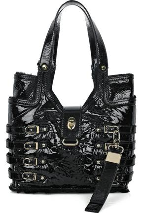 Jimmy Choo Bree Medium Patent Leather Bag