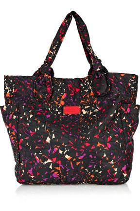 Marc By Marc Jacobs Leaf Print Twill Tote