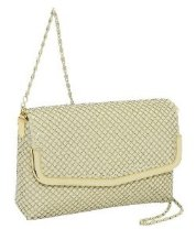 Prezzo Metal Mesh Snap Purse