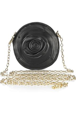 Valentino Rosette Small Leather Chain Strap Bag