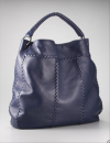 Bottega Veneta Cervo Hobo Tote | Slouchy Deep Navy Leather Carryall