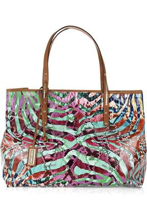 Jimmy Choo Scarlet Large Printed Shopper