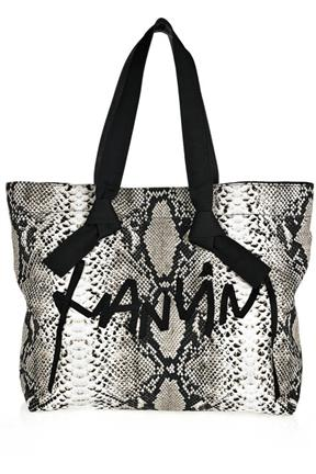Lanvin Faubourg Cabas Printed Cotton Tote