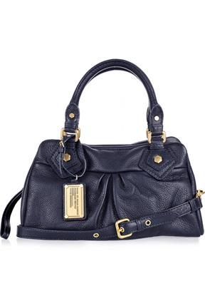 Marc By Marc Jacobs Small Textured Leather Bowling Bag