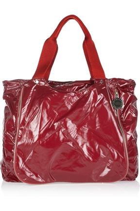 Stella McCartney Glossed Nylon Shopping Bag