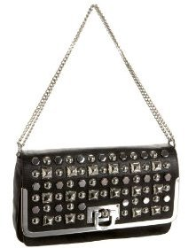 DKNY Studded Lizard Shoulder Bag