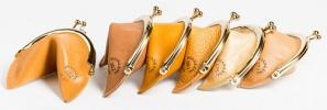 Diana Eng's New Fortune Cookie Coin Purses | Cute Quirky Recycled Leather Wallets