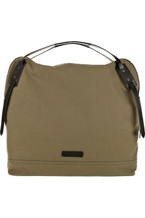 Burberry Utility Cotton Canvas Weekend Bag