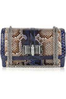 Christian Louboutin Sweet Charity Small Python Bag