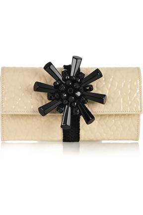 Marc Jacobs JJ Patent Leather Clutch