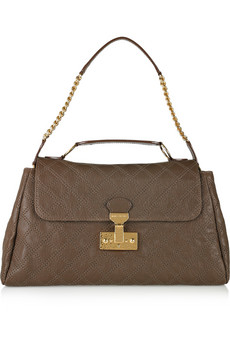 Marc Jacobs Minetta Quilted Leather Shoulder Bag