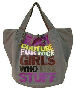 Juicy Couture For Nice Girls Tote