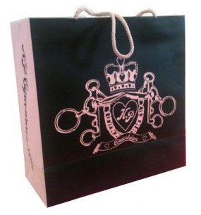 Katie Price Shopping Bag