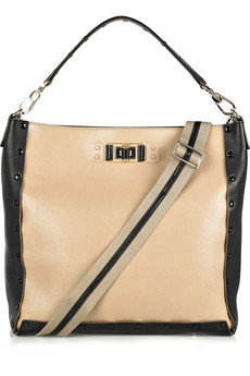 Anya Hindmarch Coburn Two-Tone Leather Tote