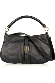 Burberry Grained Leather Bag