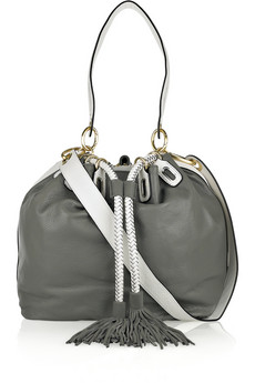 Diane von Furstenberg Penny Large Leather Bucket Bag