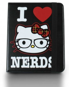 Hello Kitty I Love Nerds iPad Case