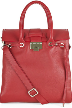 Jimmy Choo Rosabel Grained Leather Tote