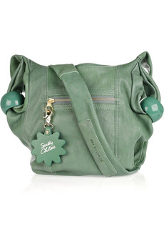 See By Chloe Ring Around Leather Shoulder Bag