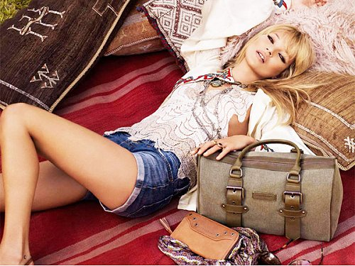 Longchamp Kate Moss ad