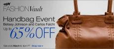 Carlos Falchi & Betsey Johnson Bag Sale | eBay Fashion Vault Discounts Designer Handbags