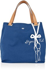 Anya Hindmarch Gym Kit Large Canvas Tote