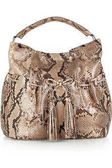 Anya Hindmarch Lacing Python Shoulder Bag