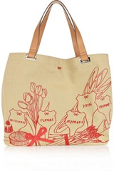 Anya Hindmarch Market Large Canvas Tote