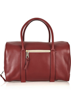 Chloe Madeline Leather Bowling Bag