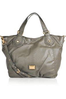 Marc By Marc Jacobs Franny Snake Effect PVC Tote