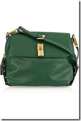 Marc Jacobs Vera Small Leather Shoulder Bag