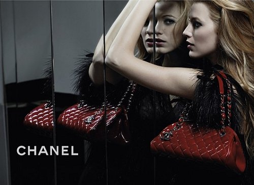 Chanel Blake Lively Ad