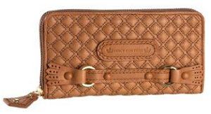 Juicy Couture Leather Brogue Wallet