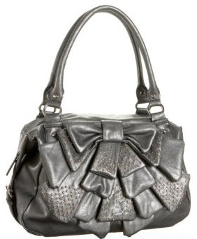 Nine West Black Magic Bow Satchel