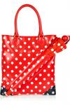 Marc By Marc Jacobs Yo Yo Dot PVC Tote & Umbrella | Cartoon Cute Red Polka Dot Carryall
