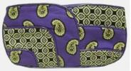 Vera Bradley Jazzy Clutch | Fun Practical Patchwork Purple Purse